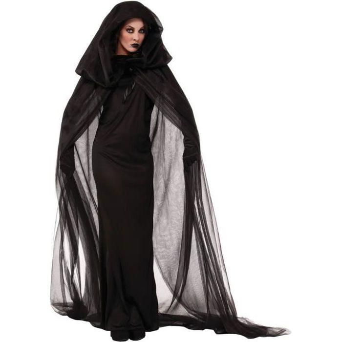 Halloween Femme Costume Sorciere Femme D Guisement One Size Achat Vente D Guisement