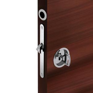 Porte coulissante avec serrure achat vente porte - Poignee de porte ronde avec serrure ...