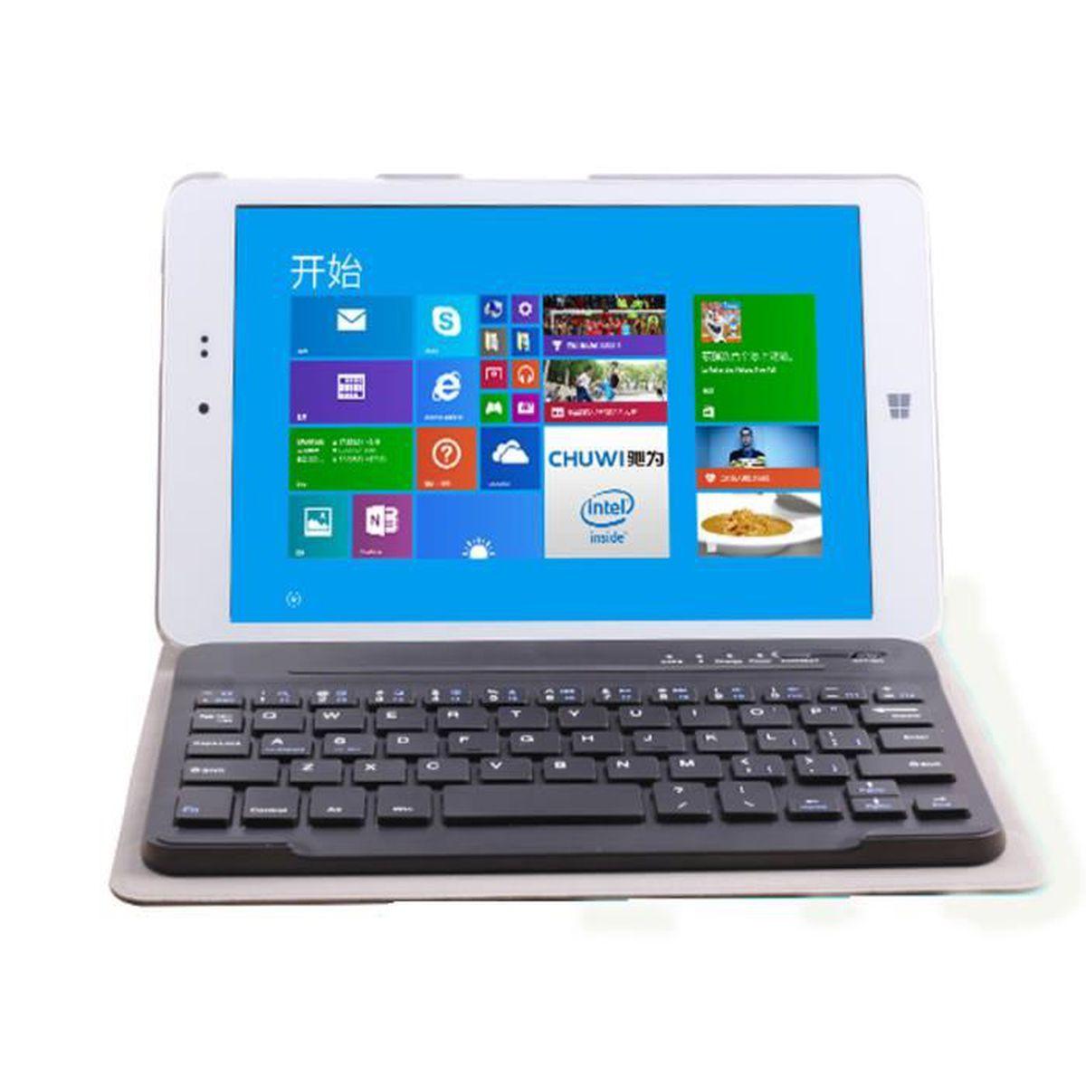 informatique tablettes tactiles ebooks clavier tablette chuwi hi pro blue f  auc