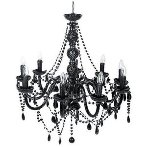 lustre baroque noire achat vente lustre baroque noire pas cher cdiscount. Black Bedroom Furniture Sets. Home Design Ideas