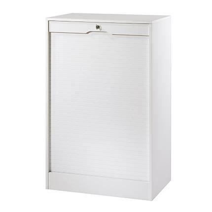 classeur double hauteur 110 cm rido blanc achat