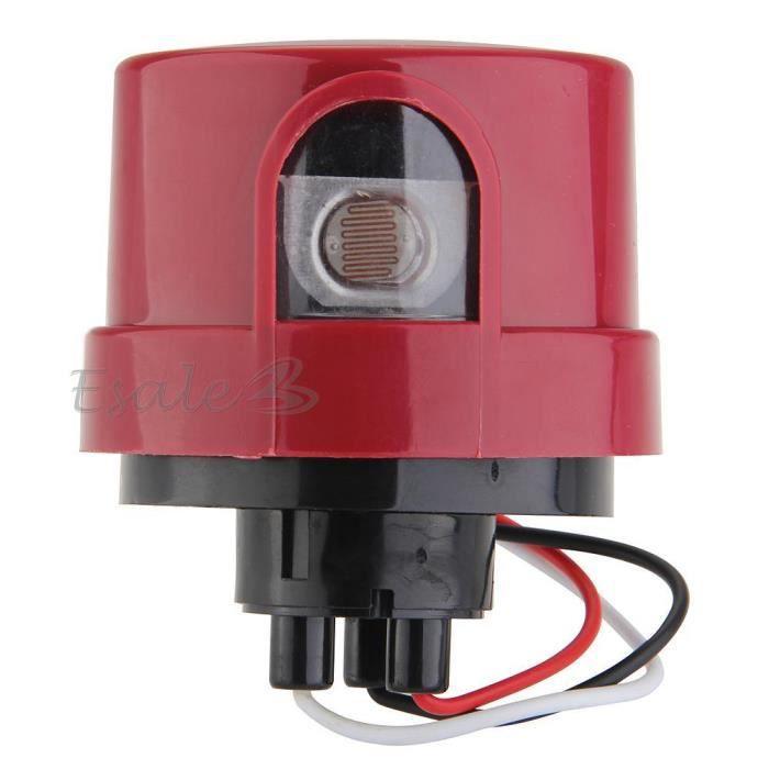 commutateur interrupteur automatique capteur lumi re 230v 20a pour lampe achat vente. Black Bedroom Furniture Sets. Home Design Ideas