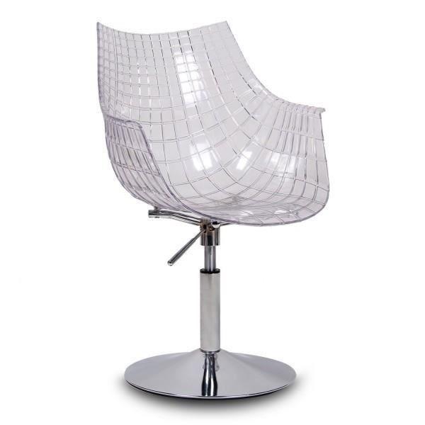 fauteuil design transparent acrylique polycarbonate plexiglas style m ridien dryade l vation. Black Bedroom Furniture Sets. Home Design Ideas