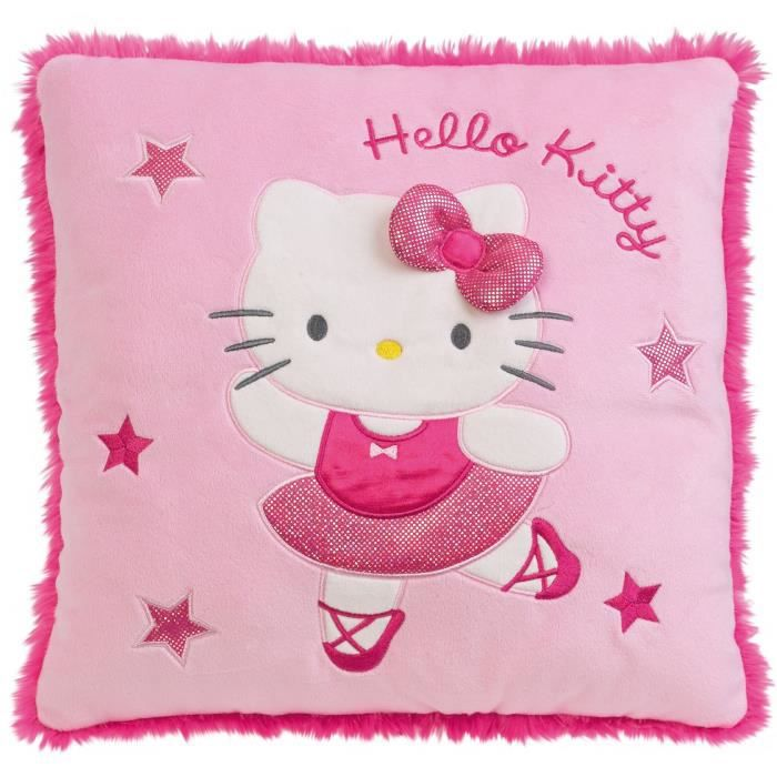 Hello kitty coussin danseuse achat vente coussin soldes cdiscount - Hello kitty danseuse ...