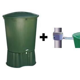 kit 1 cuve de r cup ration d eau de pluie achat vente collecteur eau cuve kit top tank. Black Bedroom Furniture Sets. Home Design Ideas