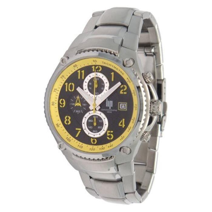 lip 10513662 montre homme achat vente montre homme adulte acier cdiscount. Black Bedroom Furniture Sets. Home Design Ideas