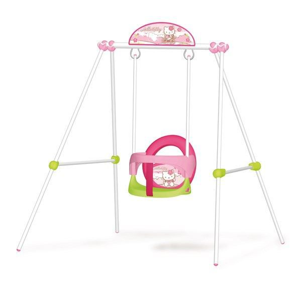 hello kitty portique b b baby swing achat vente balancoire station jeux hello kitty baby. Black Bedroom Furniture Sets. Home Design Ideas