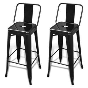 chaise de bar metal - achat / vente chaise de bar metal pas cher ... - Chaise De Bar Metal