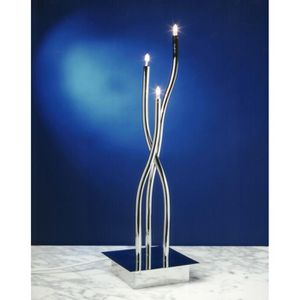LAMPE A POSER Lampe a poser Chrome Aire Mantra