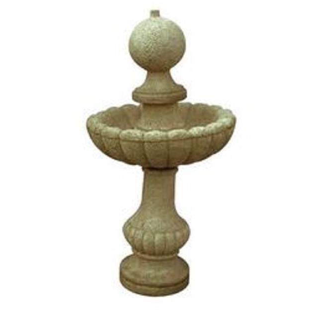 fontaine en pierre avec coupe vers le haut achat vente fontaine de jardin fontaine boule. Black Bedroom Furniture Sets. Home Design Ideas
