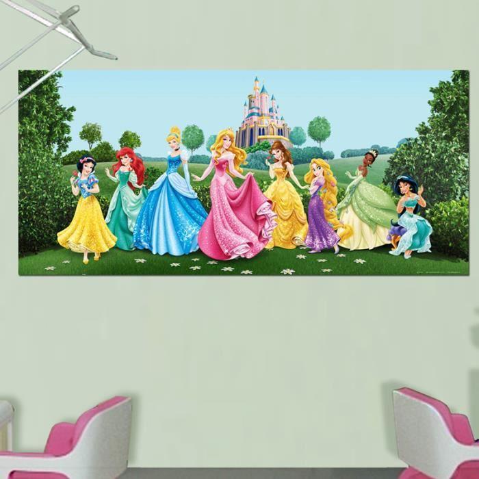 Poster g ant ch teau et princesses disney achat vente for Image chateau princesse