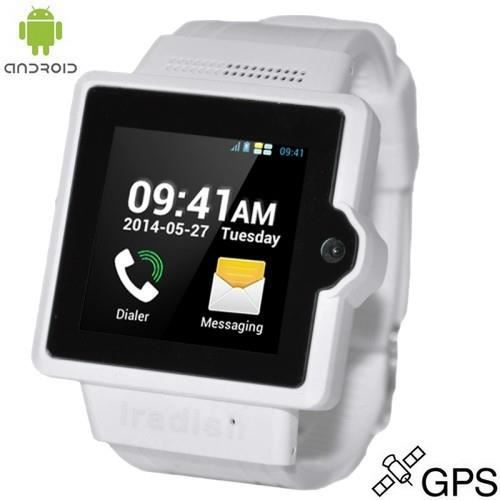 montre t l phone i6s blanc 3g 4go android 4 gps achat. Black Bedroom Furniture Sets. Home Design Ideas