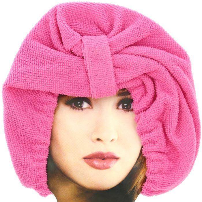 charlotte de bain luxe en tissu absorbant bonnet m achat vente serviettes de bain charlotte. Black Bedroom Furniture Sets. Home Design Ideas