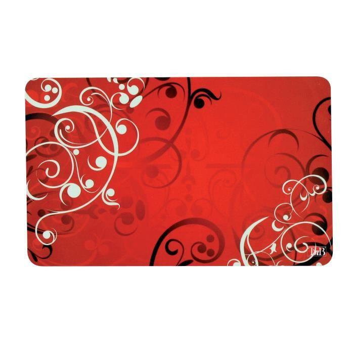 tnb tapis souris ordinateur pc design 3 en 1 rouge achat. Black Bedroom Furniture Sets. Home Design Ideas