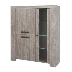 armoire vaisselle achat vente armoire vaisselle pas cher cdiscount. Black Bedroom Furniture Sets. Home Design Ideas