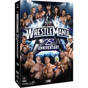 DVD FILM DVD WrestleMania 25 - 25th Anniversary