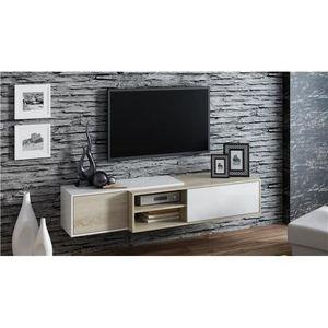 Meuble tv suspendu achat vente meuble tv suspendu pas for Meuble tv suspendu bois