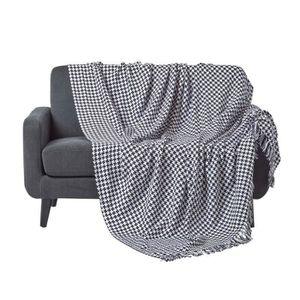 dessus de lit noir achat vente dessus de lit noir pas. Black Bedroom Furniture Sets. Home Design Ideas