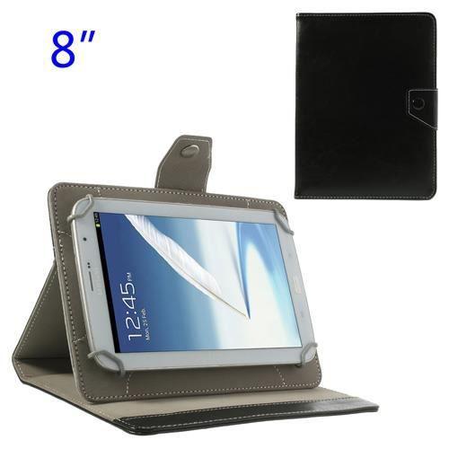 etui universel pour tablette 8 pouces noir prix pas. Black Bedroom Furniture Sets. Home Design Ideas
