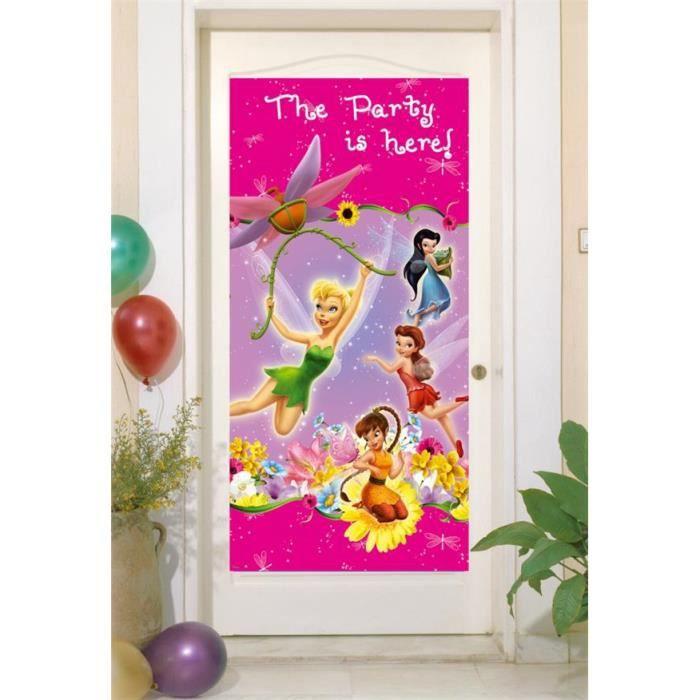 D coration murale f e clochette disney achat vente for Decoration maison disney