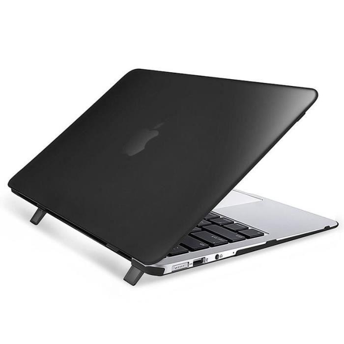 insten 174 noir coque 233 tui housse clip on protection rigide pour apple macbook air 11 quot pouces