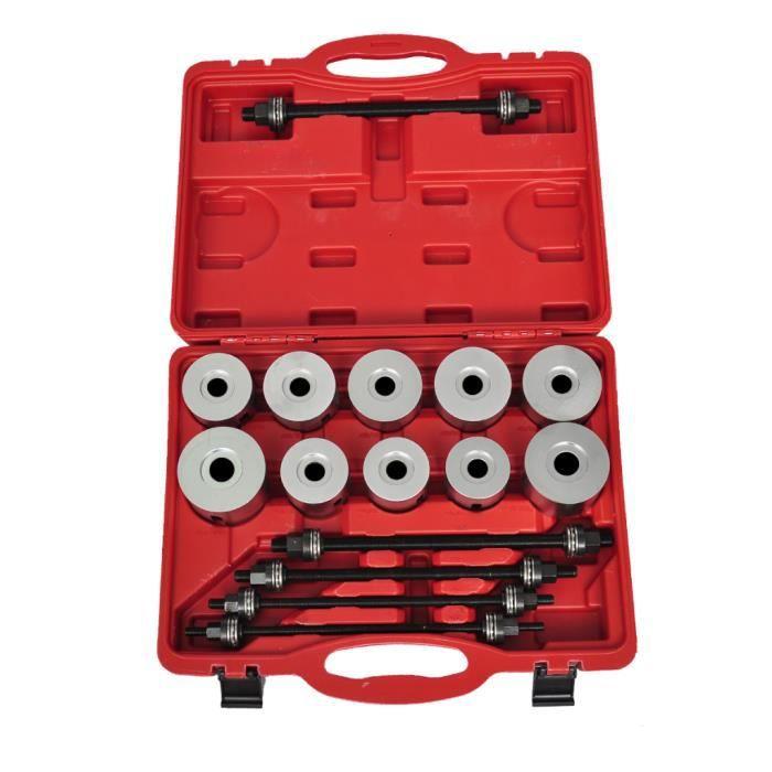 Coffret outils de montage silentbloc 27 pi ces achat for Montage piece auto garage