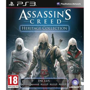 JEU PS3 ASSASSIN'S CREED HERITAGE COLLECTION PS3