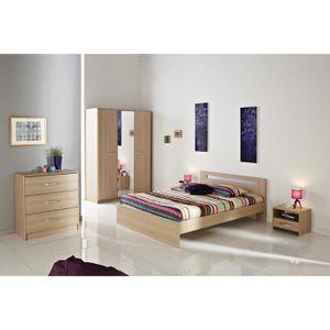 Lit adulte pas cher achat vente meubles discount for Chambre complete adulte rue du commerce