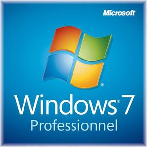 LOGICIEL À TÉLÉCHARGER  Windows 7 Professionnel / Livraison en 1H & 24/24