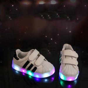 BASKET chaussures LED pour enfants les enfants ont con...