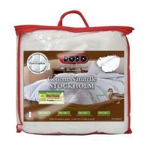 COUETTE DODO Couette chaude naturelle STOCKHOLM 240x260 cm