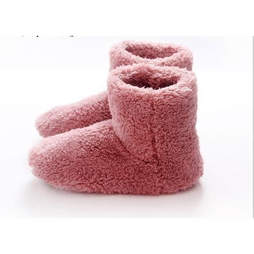 chaussons bottes femme chausson en hiver souple et chaud achat vente botte 2009895458260. Black Bedroom Furniture Sets. Home Design Ideas