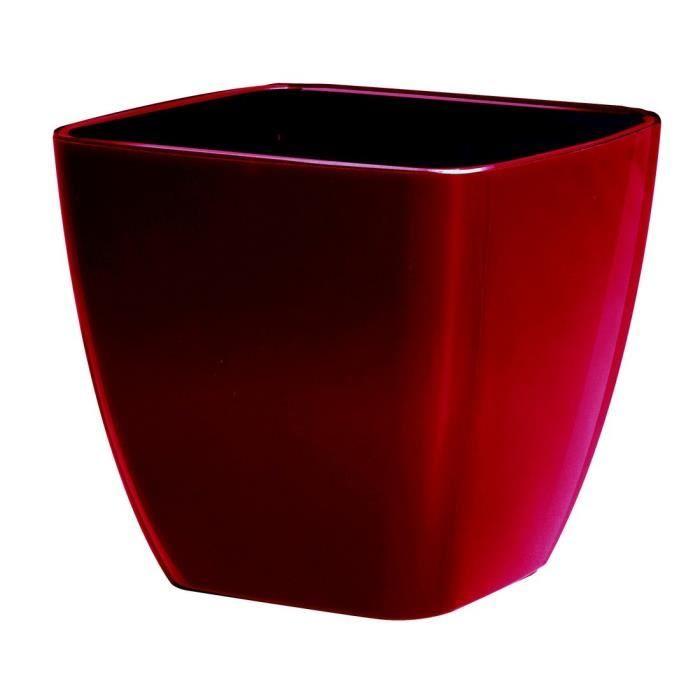 Pot de fleur rouge achat vente jardini re pot fleur pot de fleur rouge cdiscount - Pot de fleur xxl ...