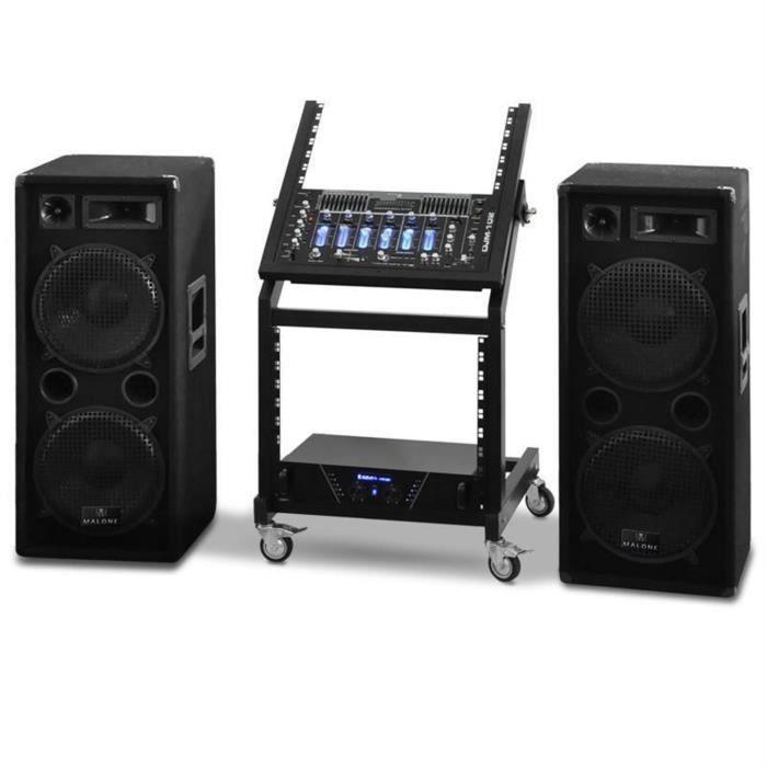 pack sono disco set pa dj actif avec rack pack sono avis et prix pas cher cdiscount. Black Bedroom Furniture Sets. Home Design Ideas