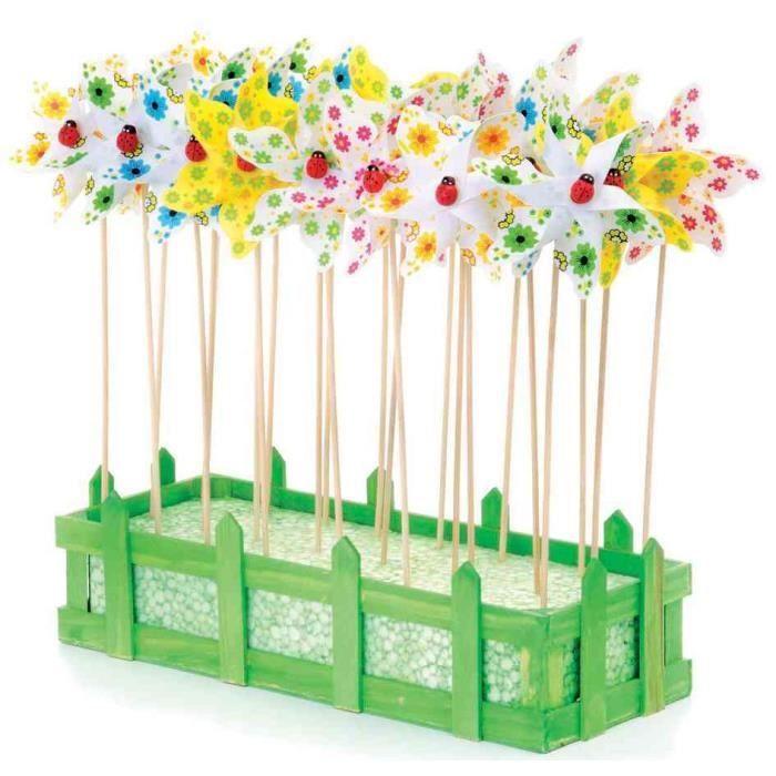 Kit de moulin vent fleurs achat vente objet d coratif cdi - Moulin a vent decoratif ...
