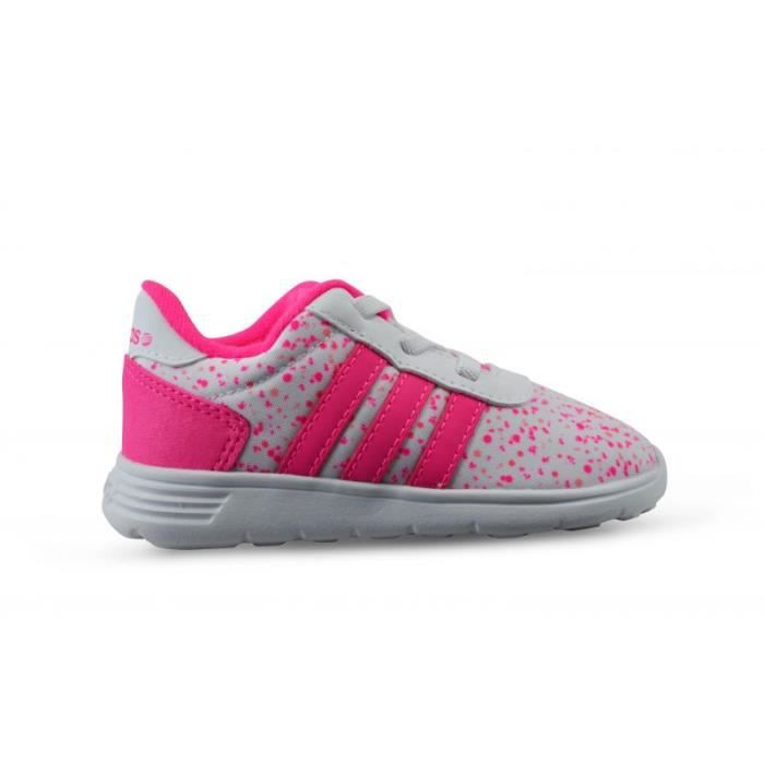 Neo Adidas Rose Et Blanche