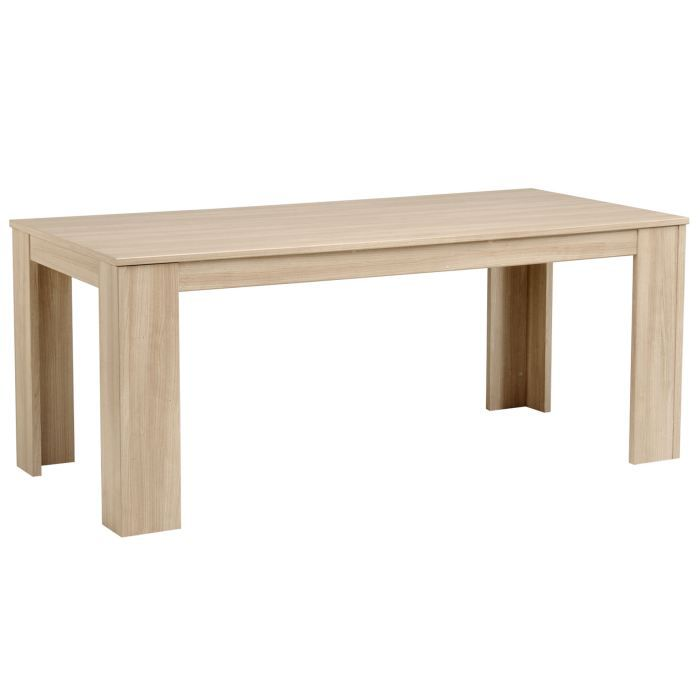 Table salle a manger rectangulaire d coration de maison - Table a manger rectangulaire ...