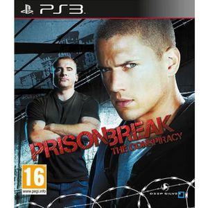 JEU PS3 PRISON BREAK / JEU CONSOLE PS3