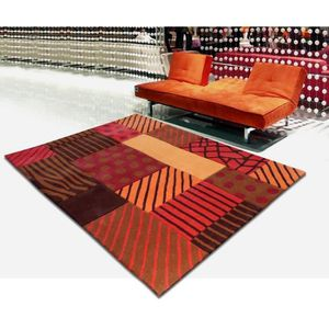 tapis orange achat vente tapis orange pas cher cdiscount