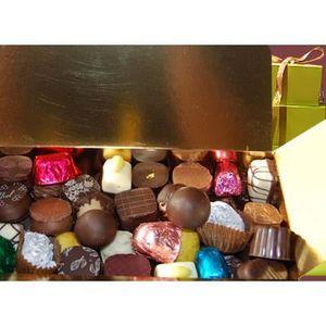 CONFISERIE DE CHOCOLAT 250g DE CHOCOLATS FINS ASSORTIS EN BALLOTIN