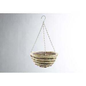 cache pot suspendu achat vente cache pot suspendu pas cher soldes cdiscount. Black Bedroom Furniture Sets. Home Design Ideas