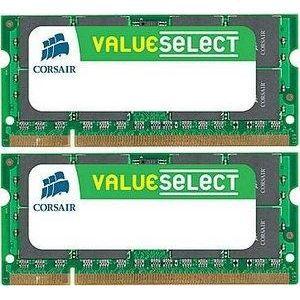 MÉMOIRE RAM Corsair SO-DIMM 4 Go DDR2-SDRAM - VS4GSDSKIT800D2