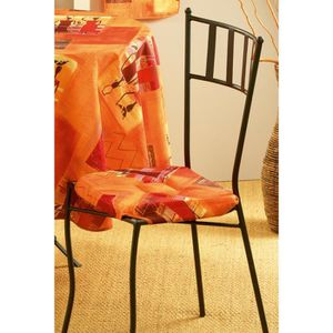 Galettes de chaises avec rabats achat vente galettes de chaises avec rabats pas cher cdiscount - Galette de chaise avec rabat ...