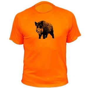 MAILLOT DE CHASSE Tee-shirt chasse sanglier seul