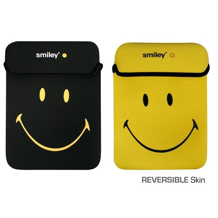 port housse skin ordinateur 15 6 39 39 smiley achat vente housse skin d ordinateur port housse. Black Bedroom Furniture Sets. Home Design Ideas