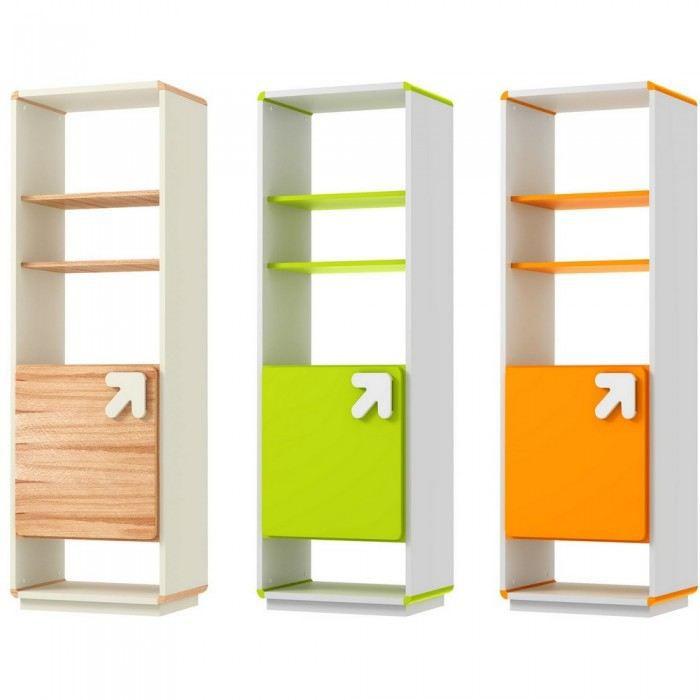 meuble de rangement design arrow couleur bois m achat vente petit meuble rangement meuble. Black Bedroom Furniture Sets. Home Design Ideas