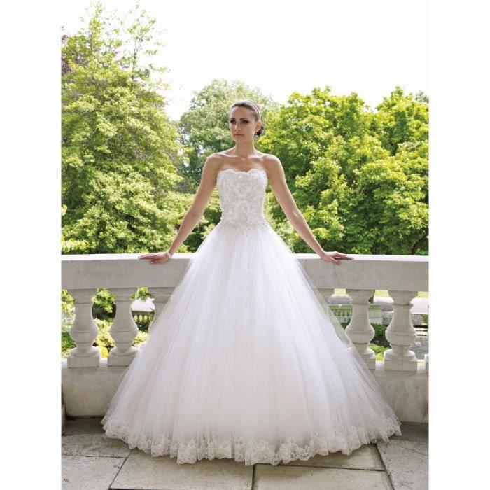 robe de mari e blanche ou ivoire tailles du 34 au 44 On robe de mariée blanche ou ivoire
