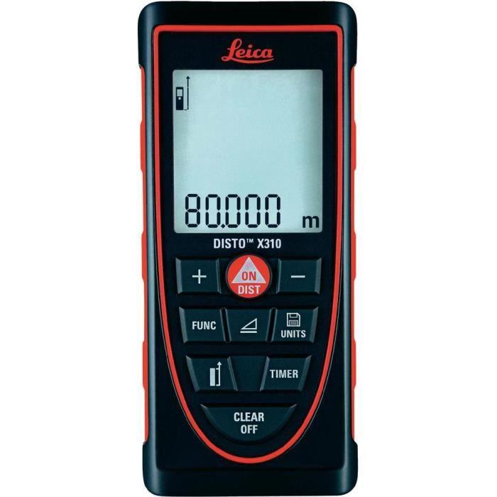 Télémètre laser Leica DISTO-X310 - Achat / Vente télémètre - laser - Cdiscount