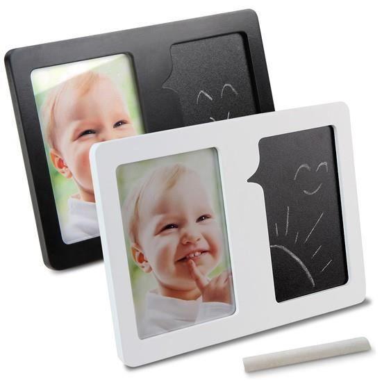cadre photo avec tableau et craie blanc achat vente cadre photo cdiscount. Black Bedroom Furniture Sets. Home Design Ideas
