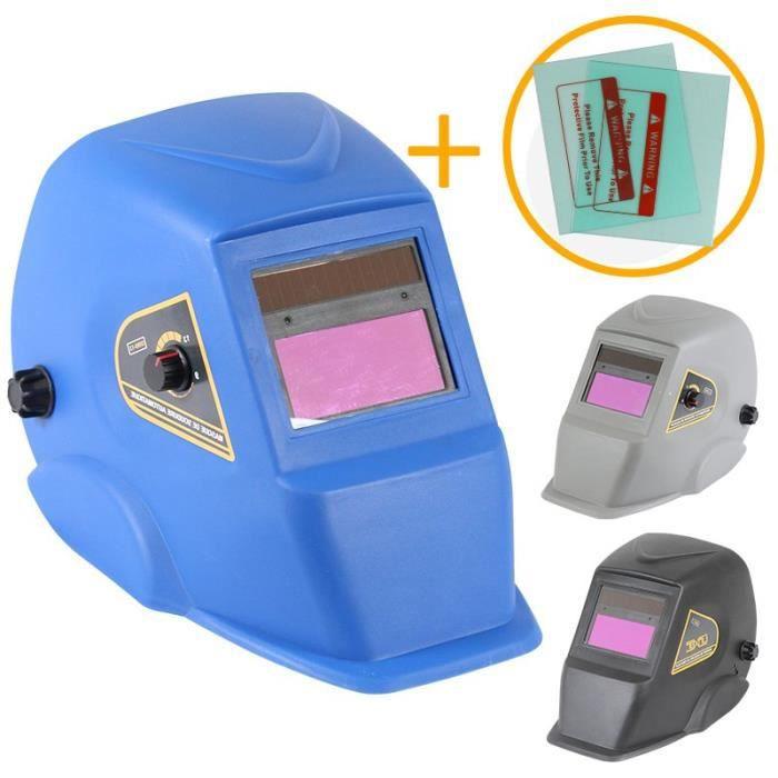 masque de soudure automatique bleu 9 13 din achat. Black Bedroom Furniture Sets. Home Design Ideas